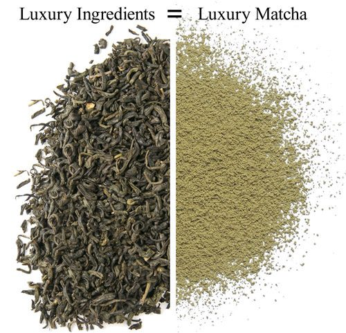 Organic Jasmine Green Matcha Tea 1