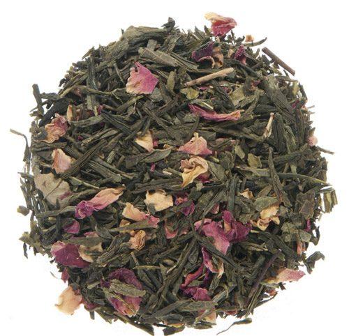 Organic Sencha Kyoto Cherry Rose Green Tea 1