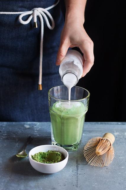 Organic Jasmine Green Matcha 1