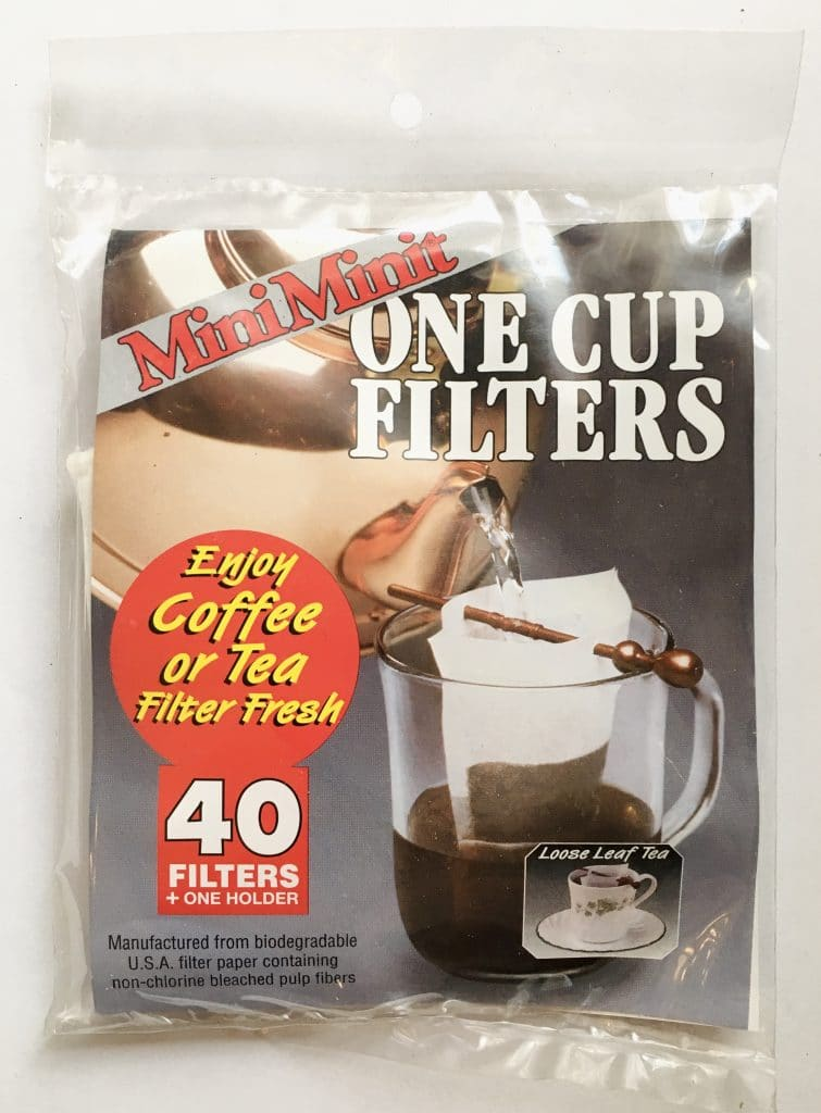 one cup filter