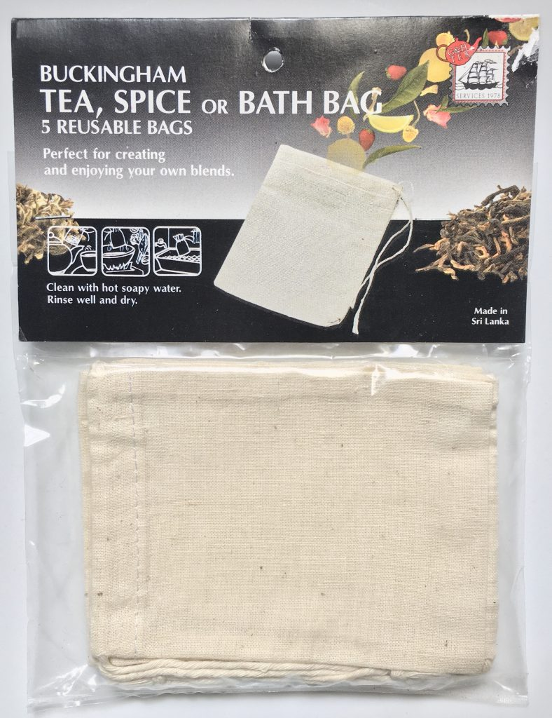 Tea, spice, bath bag