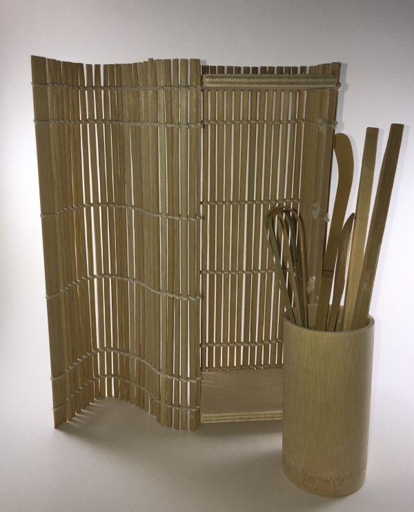 6 Piece Bamboo Matcha Tea Gift Set 3
