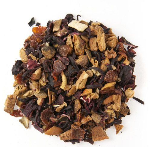 Clementine Spice Herb and Fruit Tea 1