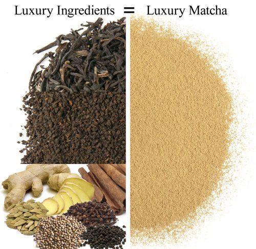 Black Cochin Chai Matcha Tea 1