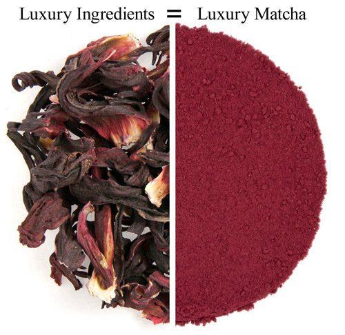 Organic Hibiscus Matcha 1