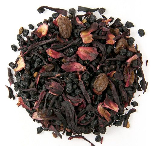 Organic Berry Berry Herb and Fruit Tea 1