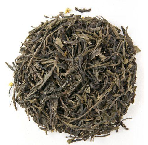 Organic Peach Osmanthus Green Tea 1