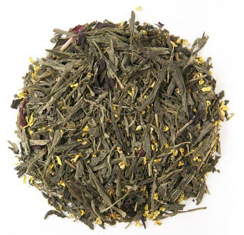 Organic Saipan Hibiscus Green Tea 1