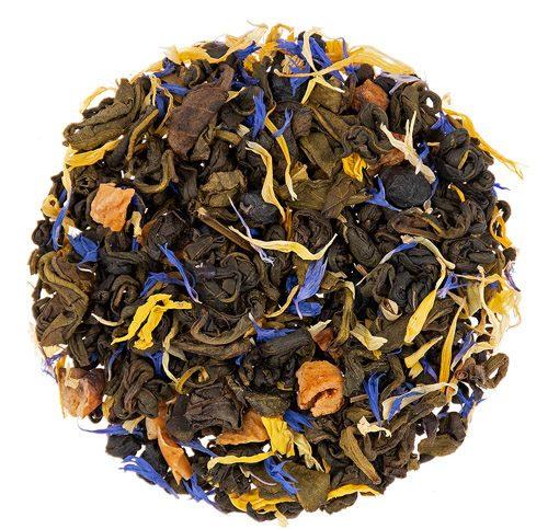 Blueberry Pie Green Tea 1