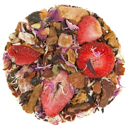 Chocolate Strawberry Herb and Fruit Tea 1