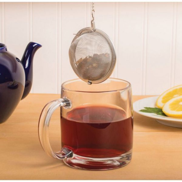 Stainless Steel Mesh Ball Tea Infuser, assorted sizes 3